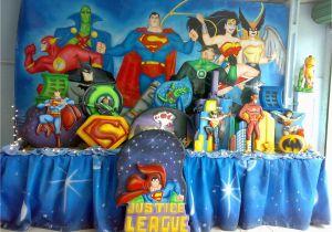 Justice League Birthday Decorations Kids Party Theme Jet Assure