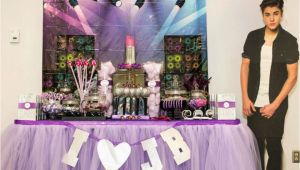 Justin Bieber Birthday Decorations Justin Bieber Lipgloss Party Birthday Quot Bieber Birthday