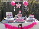 Karaoke Birthday Party Decorations Rock Star Diva Karaoke Birthday Party that Party Chick