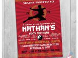 Karate Birthday Invitations Free Printable Karate Invitation Printable Personalized Boy Taekwondo