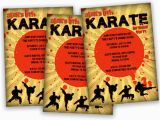 Karate Birthday Invitations Free Printable Printable Karate Birthday Invitation Ninja Party Invite