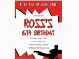 Karate Birthday Party Invitations Karate Birthday Invitations for Kids Bagvania Free