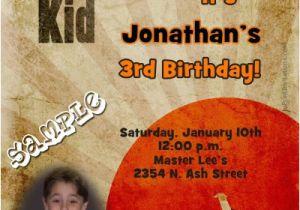 Karate Kid Birthday Invitations