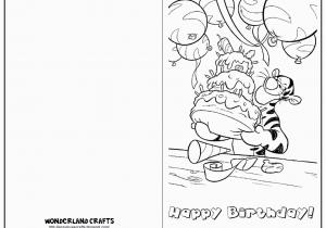 Kids Birthday Cards To Print Wonderland Crafts
