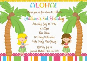 Kids Birthday Invitation Messages 18 Birthday Invitations for Kids Free Sample Templates