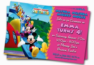 Kids Birthday Invitation Messages Minnie Mouse Birthday Invitations Printable Custom Kids