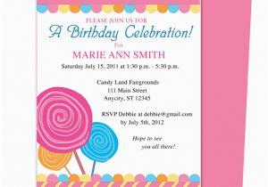 Kids Birthday Party Invitation Message Invitations Wording Ideas Free