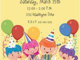 Kids Birthday Party Invite Wording Birthday Invitation Wording Ideas