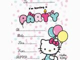 Kitten Birthday Party Invitations Buy Hello Kitty Party Invites From Fun Party Supplies