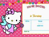 Kitten Birthday Party Invitations Free Personalized Hello Kitty Birthday Invitations Free