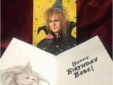 Labyrinth Birthday Card Jareth Labyrinth Birthday Card