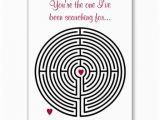 Labyrinth Birthday Card Labyrinth Love Valentine 39 S Day Holiday Card Stuff sold