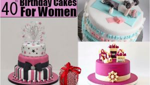 Lady 40th Birthday Ideas 40th Birthday Cakes for Women 40th Birthday Cake Ideas