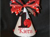 Ladybug 1st Birthday Decorations Items Similar to Ladybug 1st Birthday Party Hat with