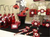 Ladybug 1st Birthday Decorations Ladybug 1st Birthday Birthday Party Ideas Photo 3 Of 7