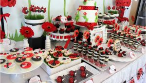 Ladybug Birthday Decorations Ideas Kara 39 S Party Ideas Lovebug Ladybug Birthday Party Ideas