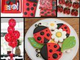 Ladybug Birthday Decorations Ideas Ladybug Party Little Lovebug Design and Ideas Mimi 39 S