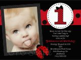 Ladybug Birthday Invites Giveaway Win A 50 Gift Certificate to Cutie Patootie
