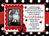 Ladybug Birthday Invites Ladybug Invitation Ladybug Party Birthday Invitations