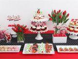 Ladybug Decorations for 1st Birthday Party Joy S Ladybug Birthday Glorious Treats