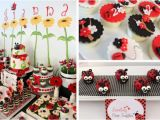 Ladybug Decorations for 1st Birthday Party Kara 39 S Party Ideas Cute Girl Party themes Archives Kara
