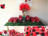 Ladybug Decorations for 1st Birthday Party Lady Bug Birthday Party the Little Umbrella