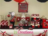 Ladybug Decorations for 1st Birthday Party Ladybug 1st Birthday Birthday Party Ideas Photo 1 Of 7