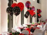 Ladybug Decorations for 1st Birthday Party Ladybug Birthday Party Ideas Photo 5 Of 30 Catch My Party