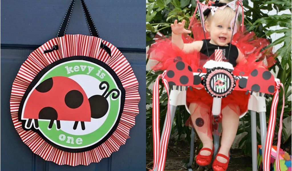 Download By SizeHandphone Tablet Desktop Original Size Back To Ladybug First Birthday Decorations