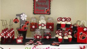 Ladybug First Birthday Decorations Ladybug 1st Birthday Birthday Party Ideas Photo 1 Of 7