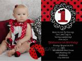 Ladybug Invites Birthday Ladybug Birthday Invitation Ladybug Party Invitations