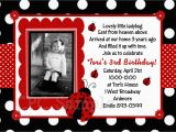 Ladybug Invites Birthday Ladybug Invitation Ladybug Party Birthday Invitations