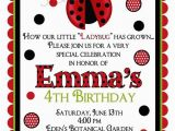 Ladybug Invites Birthday Ladybug Invitations Ladybug Birthday Party Bug Invitations