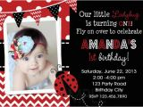 Ladybug Invites Birthday Printable Birthday Party Invitations 1st Birthday