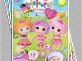 Lalaloopsy Birthday Card Lalaloopsy Birthday Party Photo Invitation Free Thank You