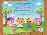 Lalaloopsy Birthday Card Lalaloopsy Invitation Kids Birthday Printable Digital