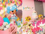 Lalaloopsy Birthday Decorations Kara 39 S Party Ideas Lalaloopsy Girl Doll Sewing Cake Decor