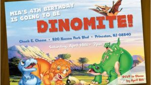 Land before Time Birthday Invitations Land before Time Birthday Invitation Digital File You