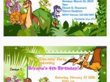 Land before Time Birthday Invitations the Land before Time Dinosaurs Dinosaur by