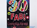 Large 30th Birthday Card Giant 30th Birthday Card Fab Only 99p