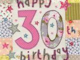 Large 30th Birthday Card Happy 30th Birthday Card Large Luxury Birthday Card