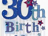 Large 30th Birthday Card Large 30th Birthday Greeting Card Cards Love Kates