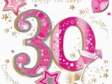 Large 30th Birthday Card Large Luxury Handmade 30th Birthday Card Female Ebay