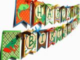 Large Happy Birthday Banners Reptile Party Happy Birthday Banner Flag Style Large In Bright