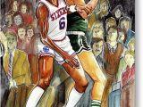 Larry Bird Birthday Card Boston Celtics Greeting Cards Fine Art America