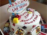 Las Vegas themed Birthday Cards Las Vegas Poker Cake Cakecentral Com