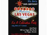 Las Vegas themed Birthday Invitations Birthday Party Las Vegas Party Invitations Zazzle