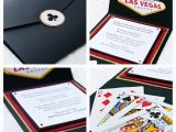 Las Vegas themed Birthday Invitations bytanja Las Vegas theme Invitations