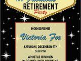 Las Vegas themed Birthday Invitations Retirement Party Vegas Invitations Free Printable Google