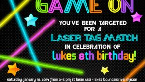 Laser Tag Birthday Invitation Templates Free 9 Best Images Of Laser Tag Invitations Free Printable